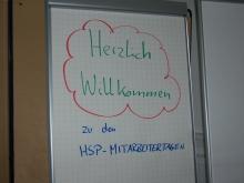 HSP-Mitarbeitertage 2013