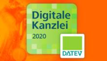 """DATEV zeichnet uns als """"Digitale Kanzlei 2020"""" aus"""