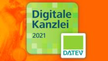 """DATEV zeichnet uns als """"Digitale Kanzlei 2021"""" aus"""